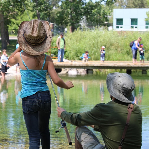 Learn to Fish Clinics | AEP - Environment and Parks